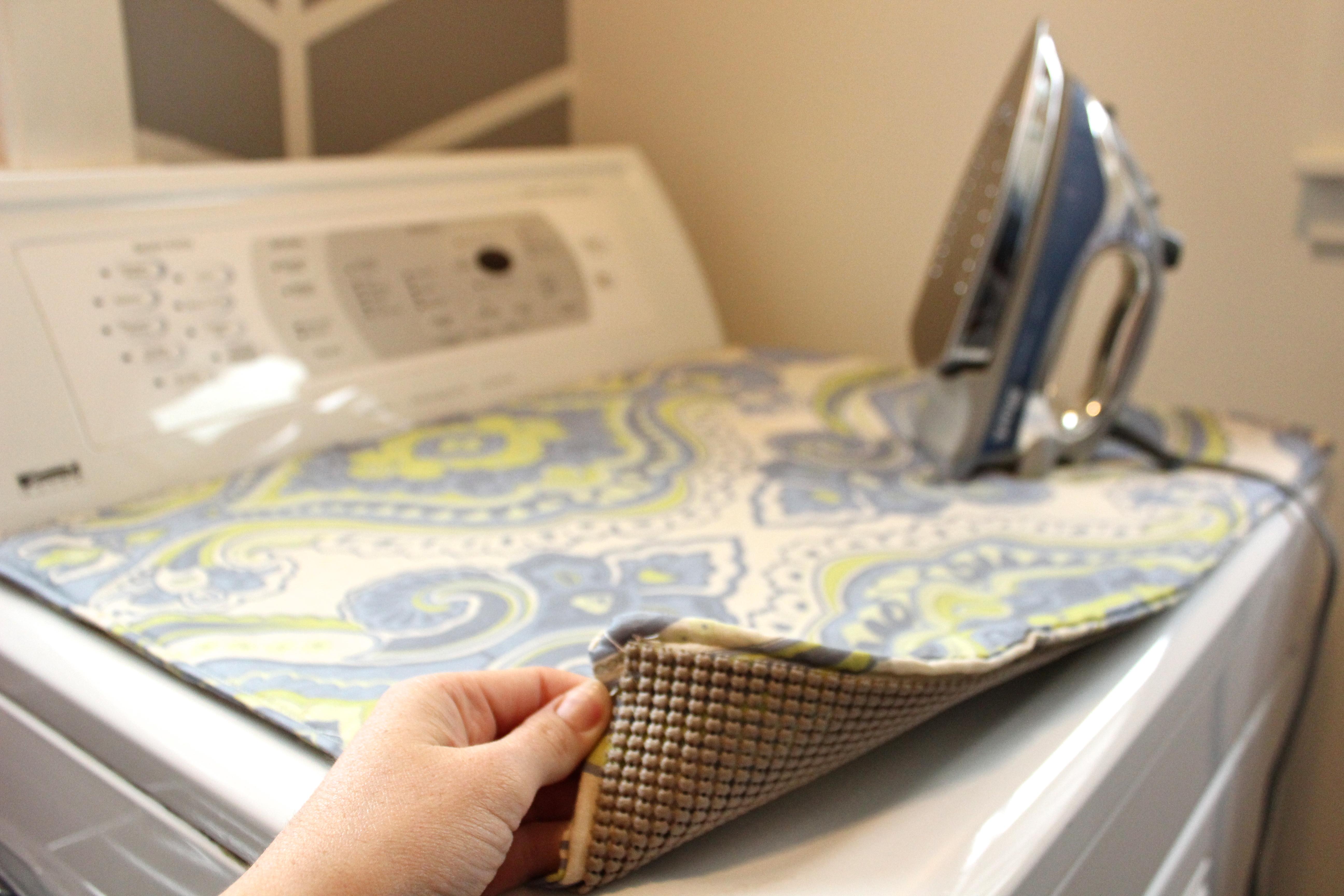 Space Saver DIY Dryer Top Ironing Pad